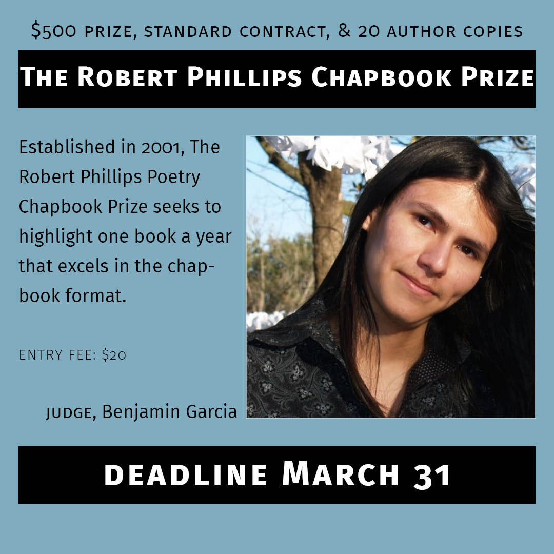 The Robert Phillips Chapbook Prize